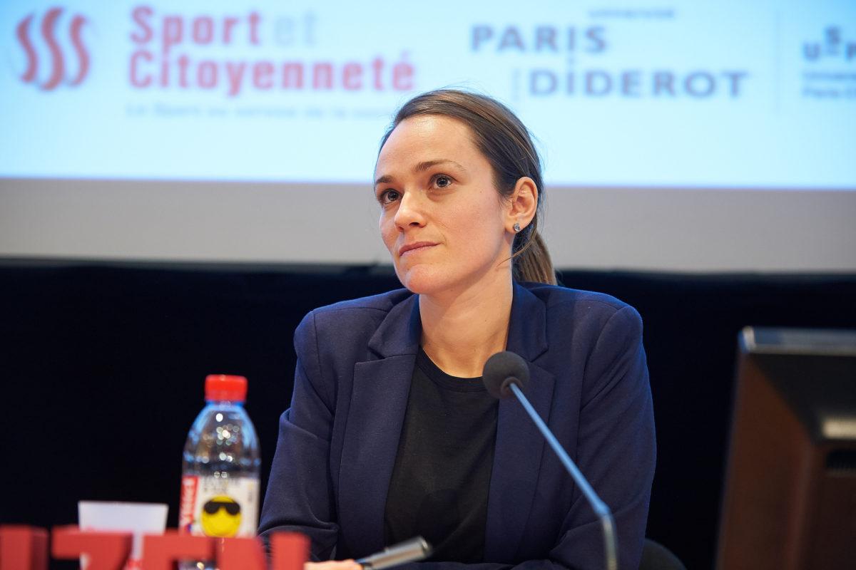 Elsa GUIPPE au colloque Sport et femmes organisé par Sport et Citoyenneté - © Delight Photography Colloque sport et citoyenneté